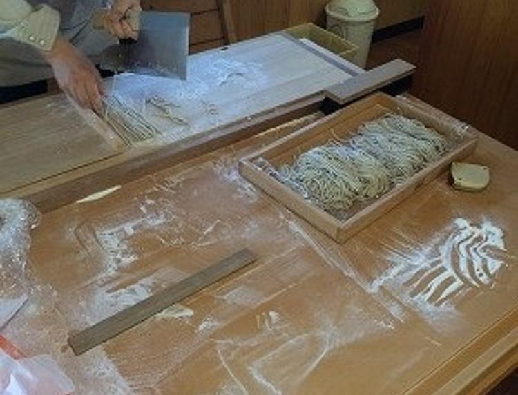蕎麦打ち体験