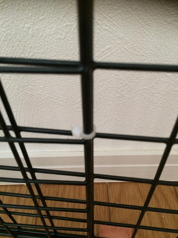 猫の防止柵