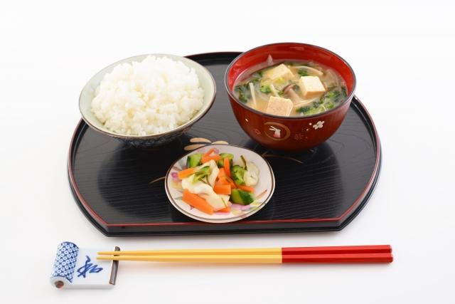 江戸時代の朝食