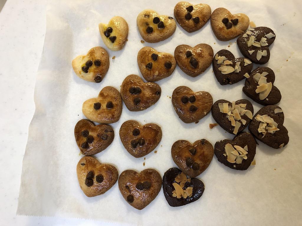 ハートのクッキー